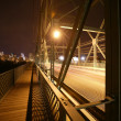 Bridge At Night — Stock Photo