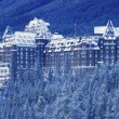 Banff Springs Hotel, Banff National Park Alberta, Canada — Stock Photo