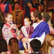 Jesus Loves The Children — Stock Photo