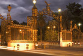 Gates Of Parque San Martin - Mendoza, Argentina — Stock Photo