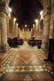 Interior de una iglesia — Foto de Stock