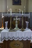 Altar, St. Vladimir's Ukrainian Greek Orthodox Church — ストック写真