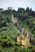14Th Century Walls Of Florence — Stock Photo