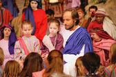 Jesus With Children — Stock Photo