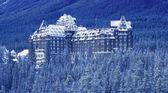 Banff Springs Hotel, Banff National Park Alberta, Canada — Stock Photo