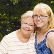 Grandmother And Granddaughter — Foto Stock #31941181