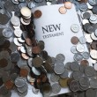 New Testament Bible And Money — Stock Photo #31942369
