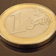 One Euro Coin — Stock Photo #31942387