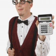 Portrait Of A Geek — Stockfoto
