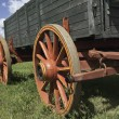 Old Fashioned Wagon — Stockfoto
