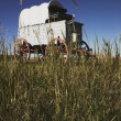 Chuckwagon On The Prairie — Stock Photo