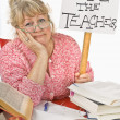 Frustrated Teacher — Stock Photo