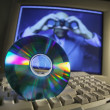 Computer Disc — Stock Photo