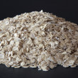 Pile Of Barley Flakes — Stock Photo