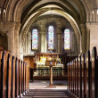 Stock Photo: Church Interior, Northumberland, England