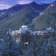 Stock Photo: Banff Springs Hotel Banff National Park, Alberta, Canada
