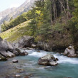 River In The Mountains — Foto Stock