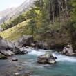 River In The Mountains — Stockfoto