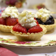 Fruit Tarts — Foto Stock