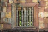 Kamenné zdi řezbářství — Stock fotografie