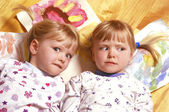 Funny twins — Stock Photo