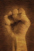 Clenched Fist — Stock Photo