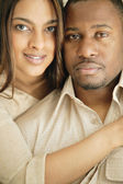 Portrait Of Afro American Couple — Stock Photo