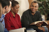 Group Bible Study — Foto Stock