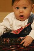 Baby Surprised — Stock Photo