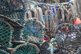 Fishing Nets And Traps — Stock Photo