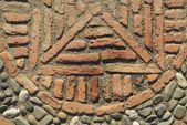 Stone Work - Gibralfaro Castle — Stock Photo