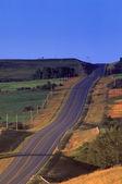 Highway On Hillside — Stock Photo