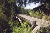 Bridge And Road Over Ravine — Stock Photo