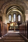 Church Interior, Northumberland, England — Stock Photo