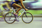 Cyclists Racing — Stock Photo