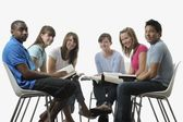 Diverse Group Of Young Adult Christians — Stock Photo