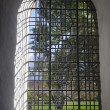 Window Covered With Bars — Stock Photo