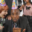 Birthday Celebration At The Office — Stock Photo