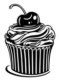 Muffin, cupcake — Vector de stock