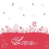 Valentines day, love, romantik — Stockvektor