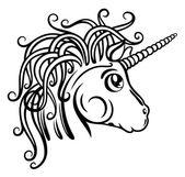Unicorn, fantasy — Stock Vector
