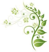 Flores de primavera — Vector de stock