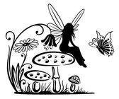 Fairy, fantasy — Stock Vector