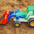 Stock Photo: Toy Tractor