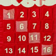 Stock Photo: Advent calendar
