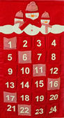 Advent calendar — Stock Photo