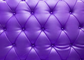 Purple upholstery leather as texture and pattern — Stock Photo