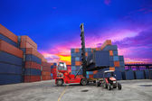 Containers in the port of Laem Chabang — Stock Photo