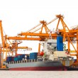 Shipping port — Stock Photo #33736593