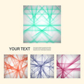Vector set color line. Futuristic design elements eps10 — Stock Vector